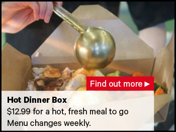 New World   New World Northwood  Hot Dinner Box and Food To Go